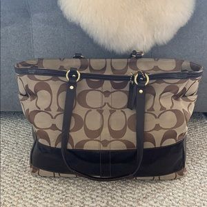 Coach Carry All / Baby Bag F0871-12436